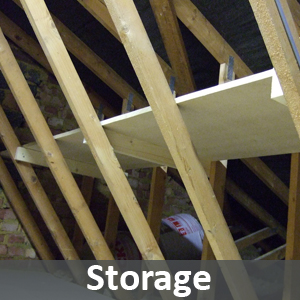 Loft storage in Morley, Leeds