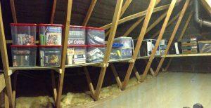 loft storage and shelving in Leeds, Wakefield and Harrogate