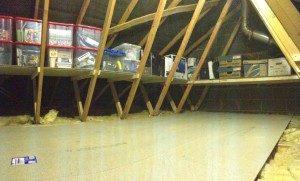 loft shelving in Leeds