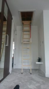 Loft Ladder installation - North Yorkshire