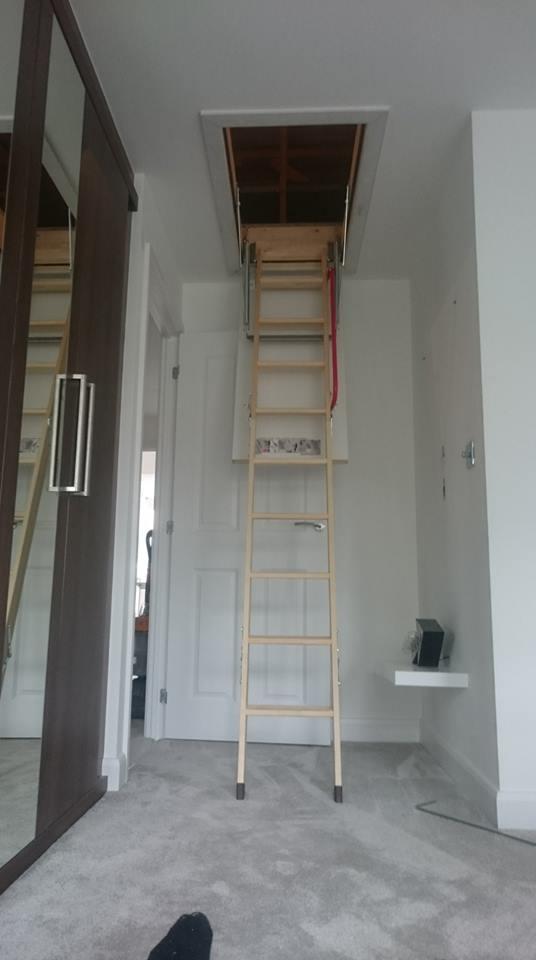 Loft Ladder installation - North Yorkshire