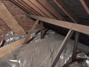 Loft floor before in Cookridge, Leeds