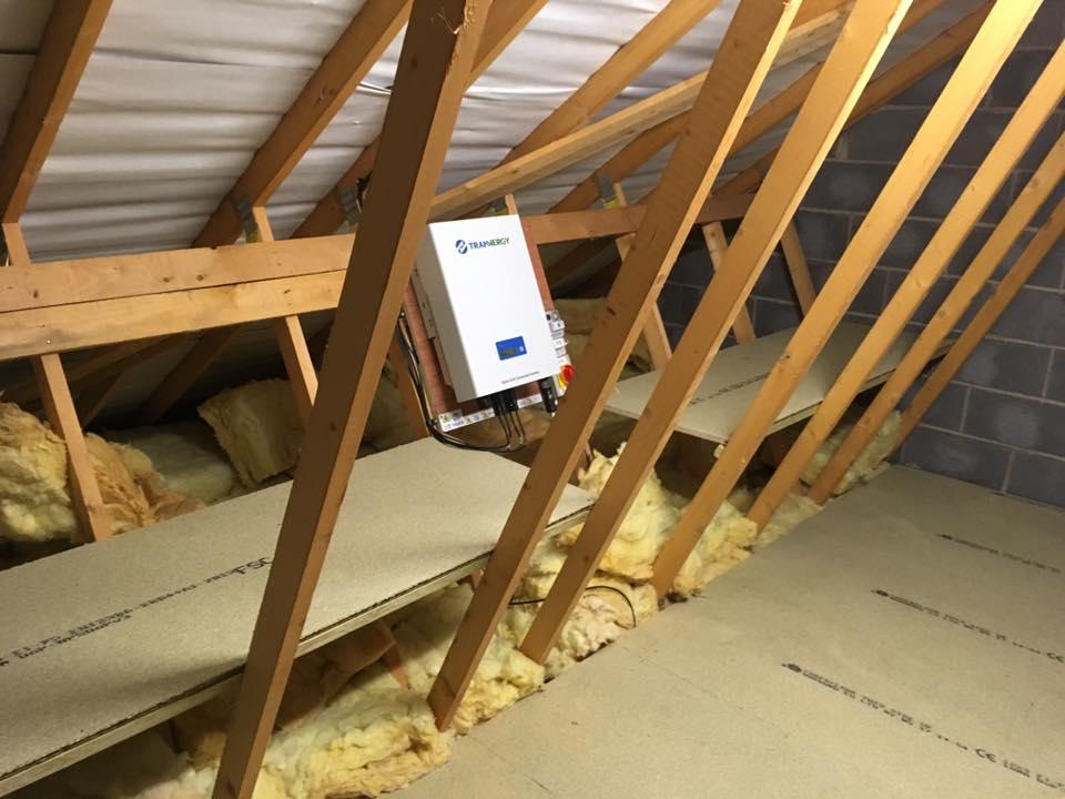 Loft shelving in Bradford