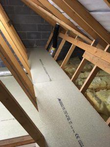 Raised Loft Shelving in Bradford
