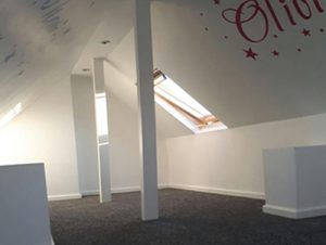 Yorkshire Loft Solutions finished loft conversion