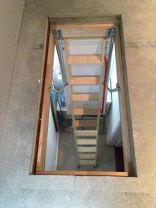 Loft ladders in Thorpe