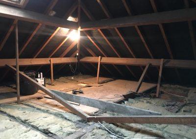 Early mini loft conversion pic - insulation