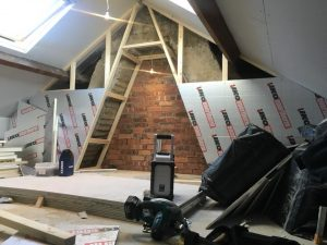 Start of mini loft conversion