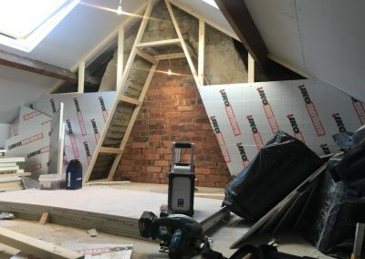 Start of mini loft conversion