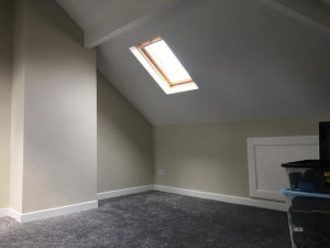 Right hand side storage and sunlight in Bramley