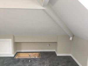 Secure loft access in Bramley