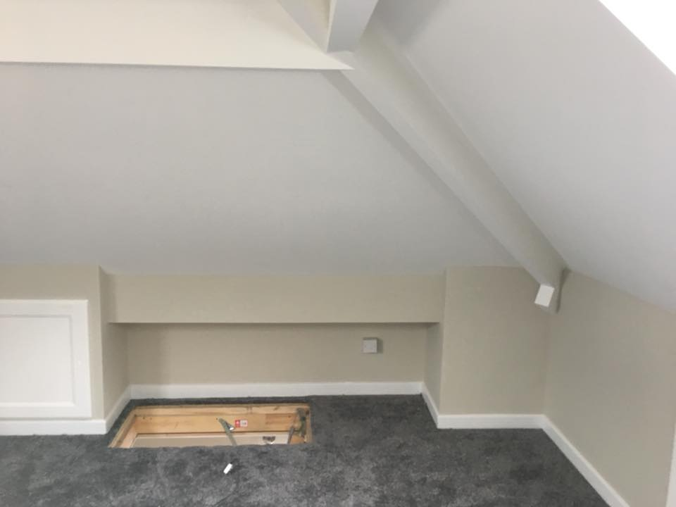 Secure loft access in Bramley