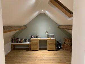 recent loft project in Huby