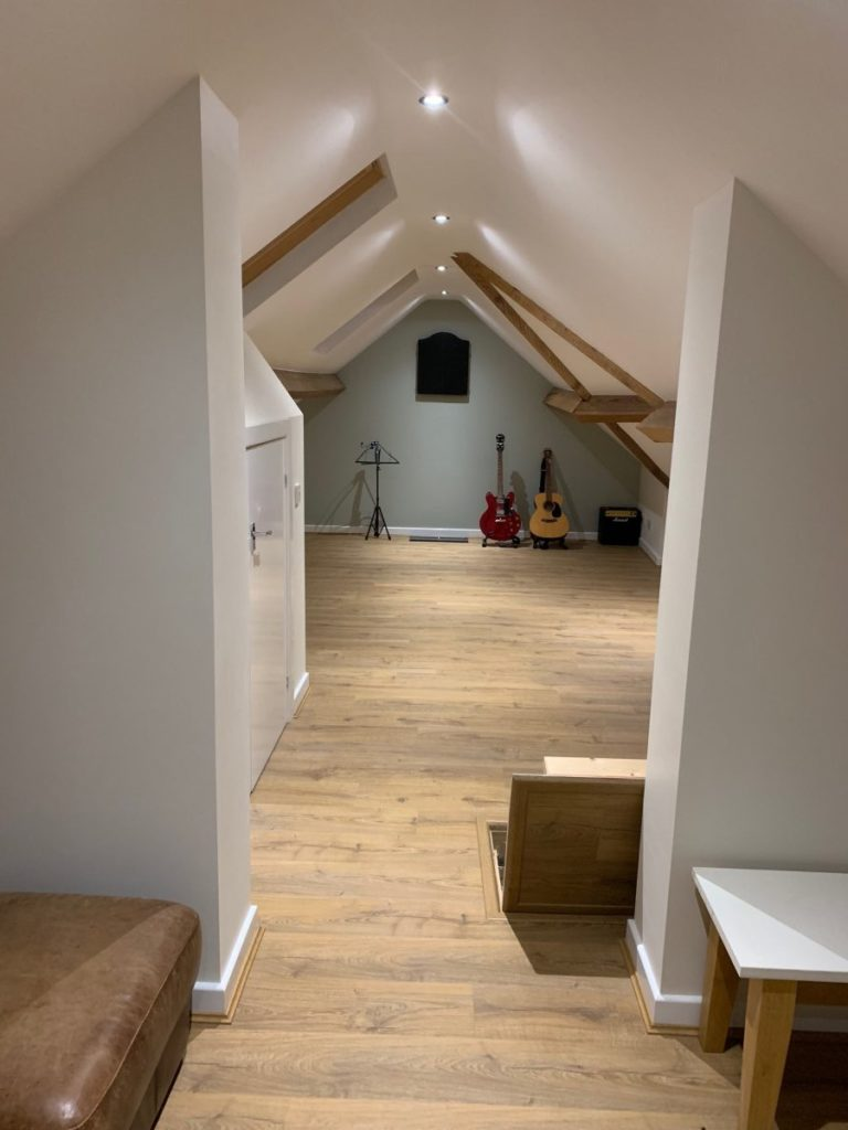 Stunning loft space in Mini Loft Conversion in Huby, Leeds