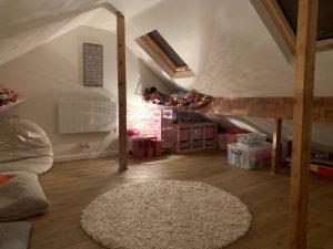 mini loft conversion in Huby