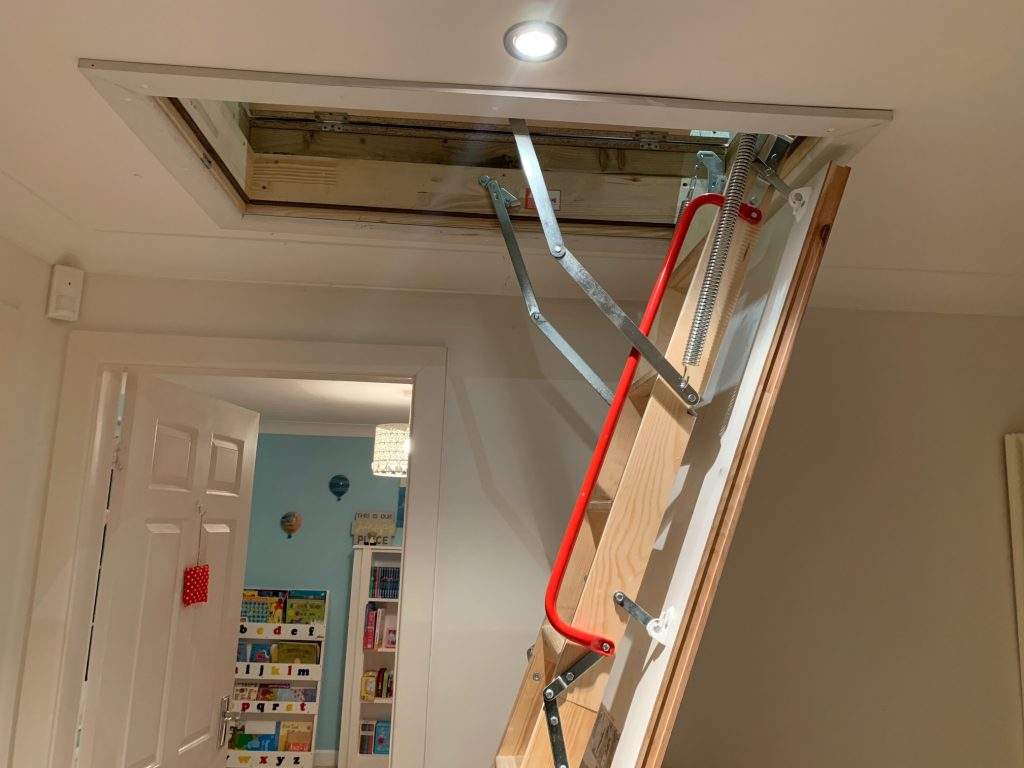 Folding wooden loft ladders in Leeds