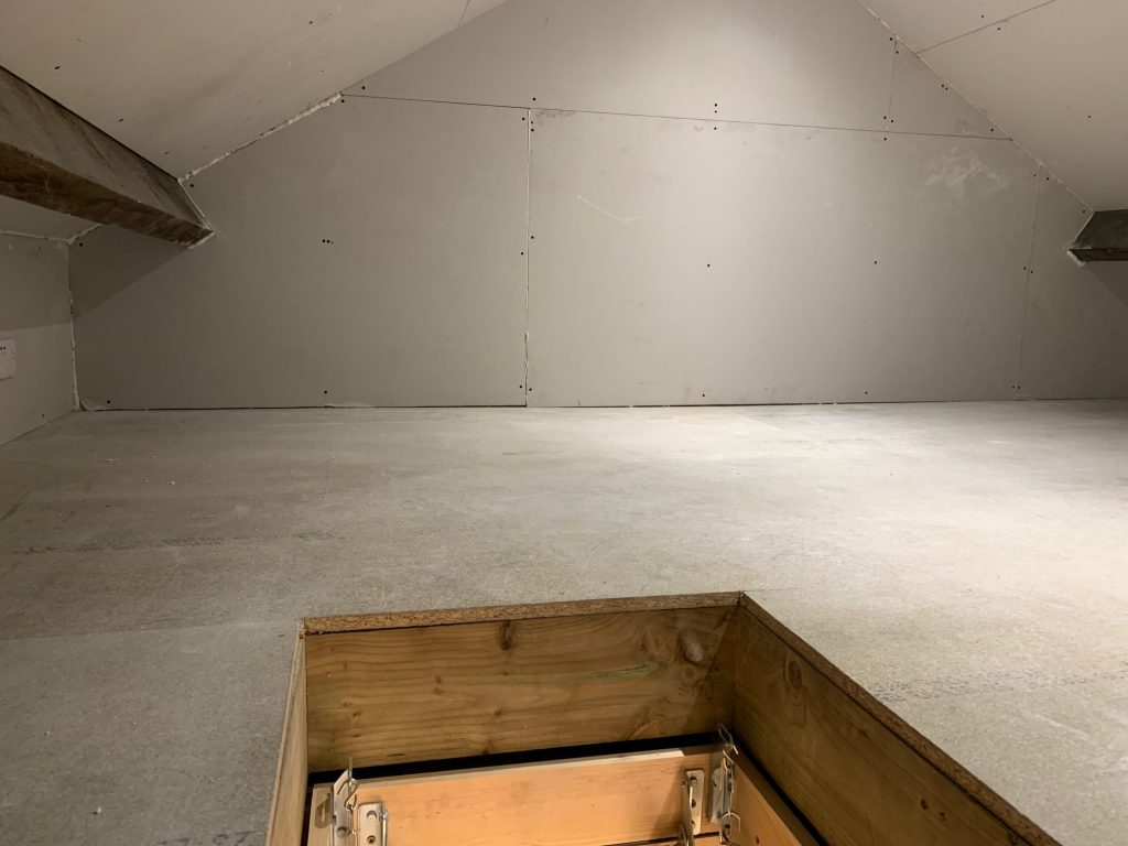 loft hatch in Pensitone