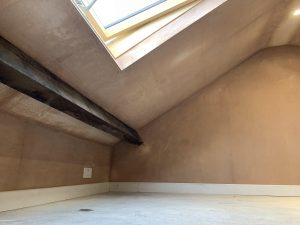 mini loft conversion and skylight installation in Penistone, Sheffield
