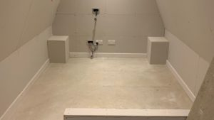 First header image for Mini Cinema room for Loft Conversion
