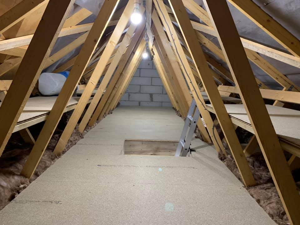 7x2 treated timber for raised Loft boarding