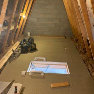 Loft hatch added