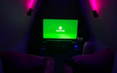 Incredible Cinema-Room Mini Loft Conversion