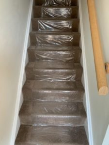 covering your floor and stairs