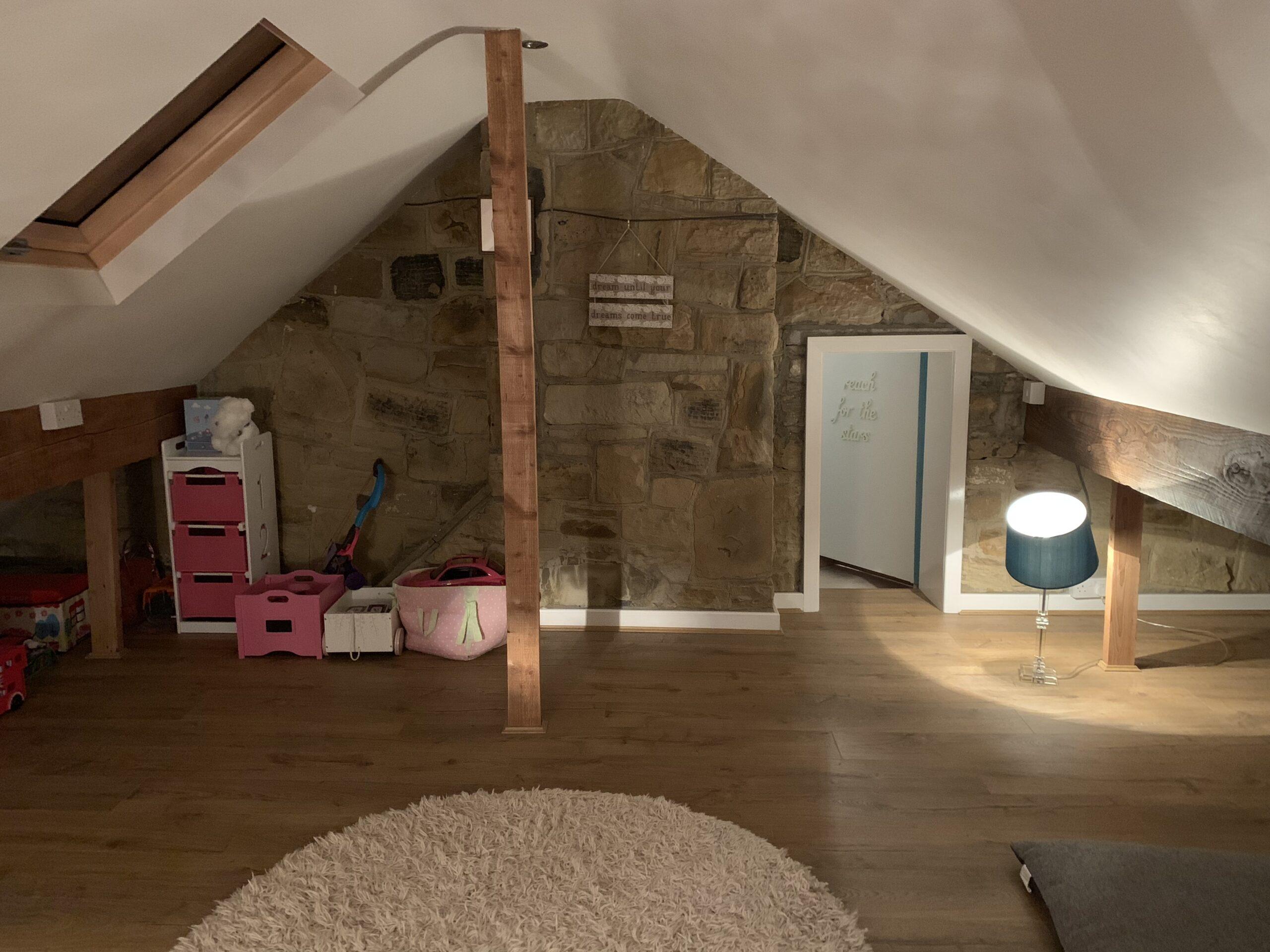 loft conversion into office